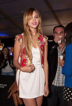 Eiza González en Mercedes-Benz Fashion Week México