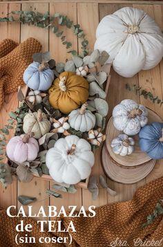 Autumn Decorating, Pumpkin Decorating, Fall Home Decor, Holiday Decor, Diy Flowers, Halloween Crafts, Easy Crafts, Ideas Para, Quilt