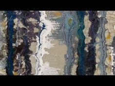 2 Acrylic Mediums that you can use to create unique textures for the abstract painting background - YouTube