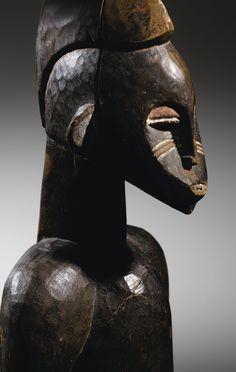 Bush, Ivory Coast, Ivoire, Impressionist, Modern Art, Auction, France, Sculpture, Statue