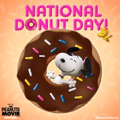 Happy National Donut Day! Let's all Dream Big and take a bite out of life!