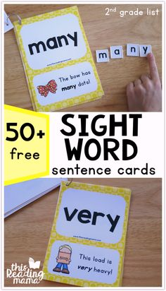 FREE Second Grade Sight Word Sentences - Level 4 - This Reading Mama