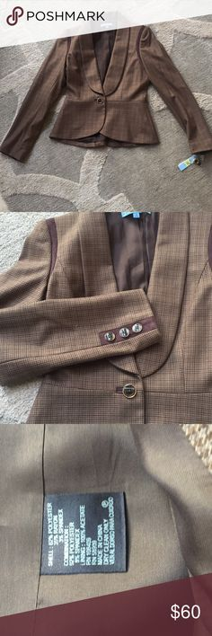 Antonio Melani Chestnut Blazer New with tags... smoke free home...  excellent condition. Very cute and stylish ANTONIO MELANI Jackets & Coats Blazers