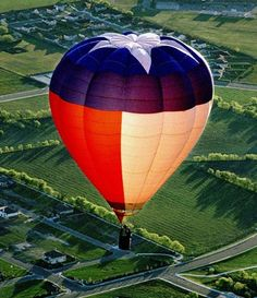 Einfach herrlich #Ballon fahren über Texas hot air balloon