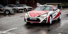 The TMG GT86 CS-R3 rally car looks perfect