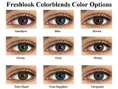 Freshlook Colorblends - $15.80 - Available in Prescription