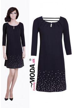 Elegantné šaty  CP14 Dresses, Fashion, Vestidos, Moda, Fashion Styles, Dress, Fashion Illustrations, Gown, Outfits