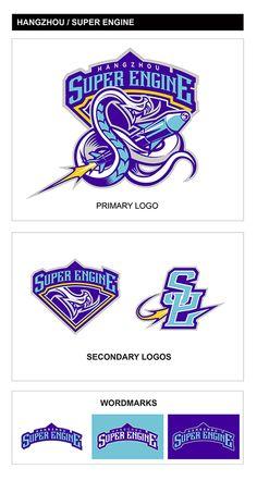 Streetball team—— super engine logo on Behance