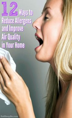 What if we could reduce allergens and stop sneezing and wheezing simply by improving our home air quality? Here's how to improve air quality in our homes. Allergy Asthma, Allergy Relief, Allergy Remedies For Kids, Infection Control, Be Natural, Kids Health, Indoor Air Quality, Allergies, Health And Wellness