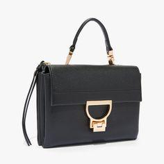 promo code 0d919 87fd7 Arlettis Leather Mini Bag, svart