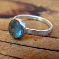 20 off Sale labradorite ring solitaire by littlebugjewelry on Etsy, $60.00