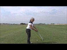 How to achieve a straighter golf shot, or even a draw - YouTube