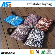 Beach Lounger Inflatable Sofa Outdoor Nylon Air Filled camping beach chair with carry bag Air Lounger, Air Chair, Kids Sleeping Bags, Beach Chairs, Sofa, Camping, App, Stuff To Buy, Apps