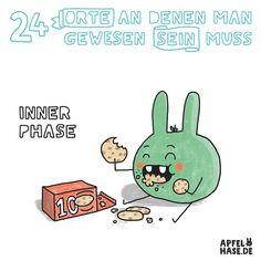 Apfelhase Adventskalender #10: Inner Phase Illustration, comic, drawing, Zeichnung