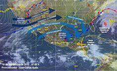 Para Morelia y los municipios circundantes se pronostica cielo la mayor parte del día despejado, con formación de algunos nublados dispersos por la tarde y no se esperan lluvias. Continuará ...