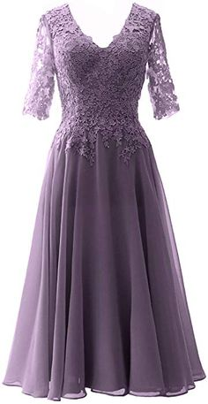 Tea Length Dresses, Dresses With Sleeves, Half Sleeves, Fitted Dresses, Mother Of The Bride Dresses Long, Mother Bride, Bridesmaid Dresses, Prom Dresses, Wedding Dresses