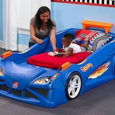 New Hotwheels Twin Bed.!
