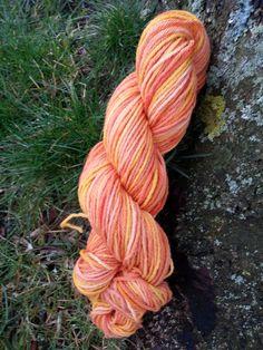 Marigolds - Merino DK hand dyed Yarn.