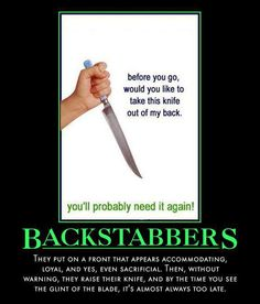 84 Best Back Stabbing Bitches Images In 2019 Humorous Quotes