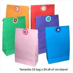dcb32d6f2 saco de papel cores varias taam 15x24x7 cm pct c 10 unidades 1 html - Busca  na Sacolas e embalagens de papel para eventos, lojas, casamentos,  aniversário, ...