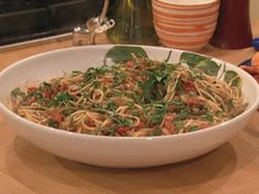 Fennel-Pepper Spaghetti - one of Chloe's (and my) favorites