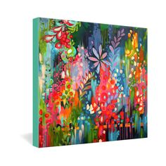 Stephanie Corfee Lush Gallery Wrapped Canvas | DENY Designs Home Accessories