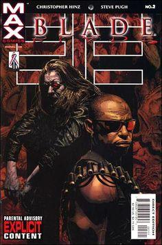 Blade Vol. 2 # 2 by Timothy Bradstreet