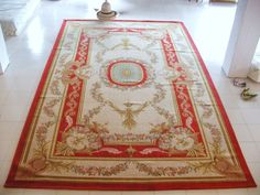 2014 Tapete <font><b>Para</b></font> Sala Alfombra Details About Handknotted Thick Plush French Savonnerie Rug Made To Order~free Shipping Ly-5a