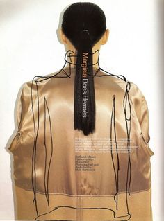 Harper's Bazaar June 1998, Martin Margiela for the House of Hermés  by Mark Borthwick