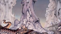 Prog Rock's Artist Roger Dean Roger Dean, Rock Artists, Movie Poster Art, Ap Art, Fantastic Art, Cover Art, Album Covers, Science Fiction, Rock News