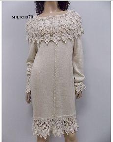 Вязание + ткань Замечательные модели от TALITA Соловьёва   Варварушка-Рукодельница