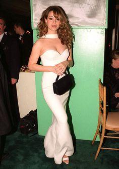 Mariah Carey at the 1996 Grammy awards