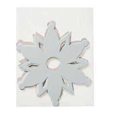 Paperiset lumihiutaleet, nude (10+kpl)