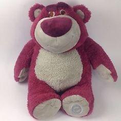 "Disney Store Toy Story Lotso 15"" Large Scented Plush Bear | eBay"