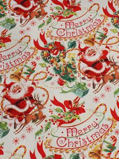 Vintage Christmas Wrapping Paper, Christmas Gift Wrapping, Christmas Gifts, Vintage Style, Vintage Fashion, Paper Gifts, Gift Bags, Wonderful Time, Ephemera