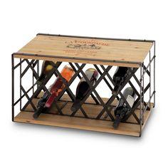 Wine Crate Meets Wine Rack