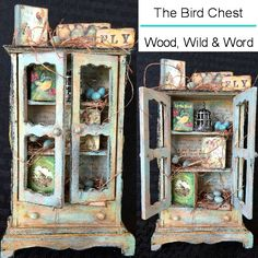 This little bird chest was created for Creative Carte Blanche.  You can see the complete tutorial on my blog here: http://candycreates.blogspot.com/2016/05/3-ws-wooden-wild-and-word-art-adventure.html