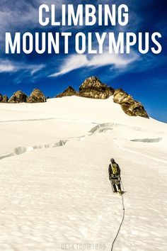 Mount Olympus is the highest point in Olympic National Park, and it takes a trek to get there...