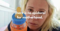 The childbirth part is easy. #newmom #newborn #breastfeeding #baby