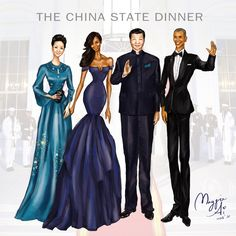 """The China State Dinner"" by Maggie Ai"