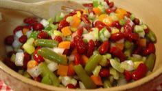 Piquant Mixed Vegetable Salad