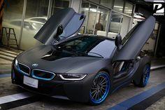 BMW i8 with ADV.1 wheels