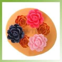 DIY Mold Silicone Gel Clay 3Cavity Muffin Maker Jello Handmade Soap Candle Mould