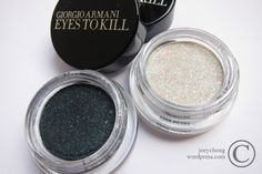 Giorgio Armani Eyes To Kill  Obsidian Black & Madre Perla