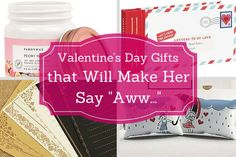 Valentine's Day is about celebrating your love and expressing how this person has made you happy. So instead of just getting some flowers and chocolate and calling it a day (not that she wouldn't like chocolate, she will!), here are some sweet and sentimental Valentine's Day gift ideas that she is sure to love. Get ready to be bombarded with kisses!