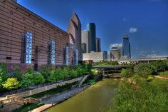Houston, Texas - Ellen Yeates. Houston Skyline