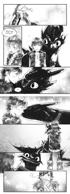 HTTYD-kiss by siruphial.deviantart.com on @deviantART