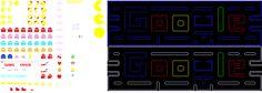 Pacman sprites for perler beads