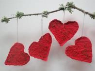 These handmade hearts make perfect Valentine's Day decorations and gifts. Make them with your favorite seeds and plant them for lovely flowers or vegetables later in the year. This craft is great to make with kids—even little ones can participate and enjoy.