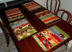 Faux-Quilted Placemat Tutorial